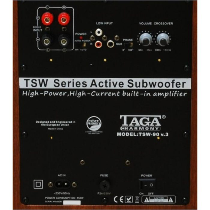 Subwoofer activ TAGA Harmony TSW-90 V.3